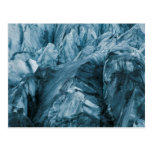 Abstract Pattern in Glacier | Iceland Postcard
