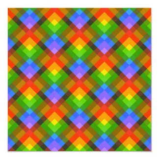 Abstract Pattern. Custom Invitations