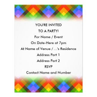 Abstract Pattern. Invites