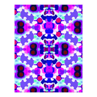 Abstract pattern letterhead