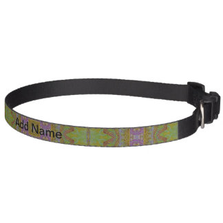 Abstract Pattern multicolored Pet Collar