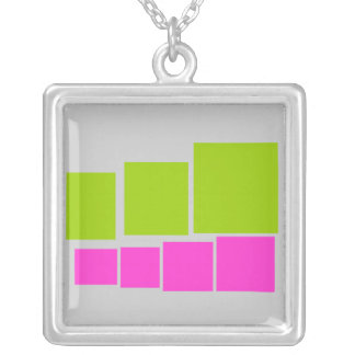 Abstract Pattern Necklace