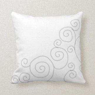 abstract pattern neutral minimalist pillow
