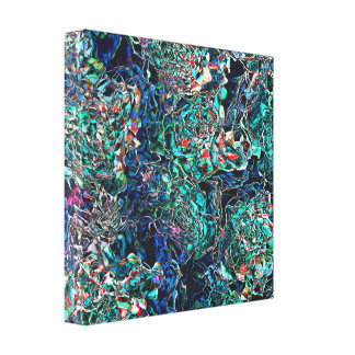 Abstract Pattern of Colors Canvas Print