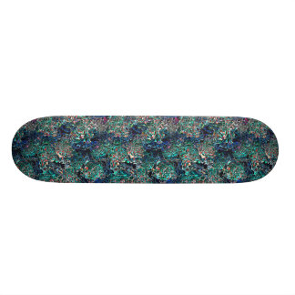 Abstract Pattern of Colors Skateboard Deck