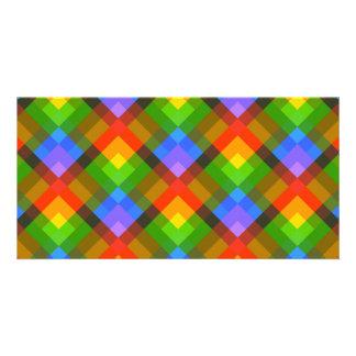 Abstract Pattern. Custom Photo Card