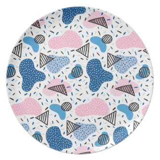 Abstract Pattern Plate