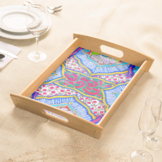 Abstract Pattern - Serving Tray - Tray