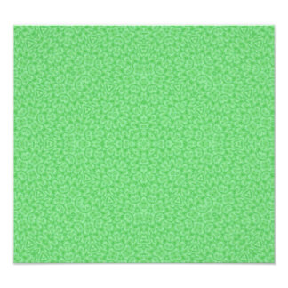 Abstract Pattern Stone green Photo Print