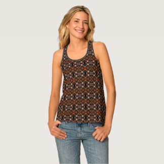 Abstract Pattern Tank Top