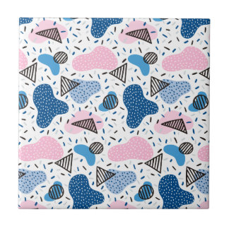 Abstract Pattern Tile