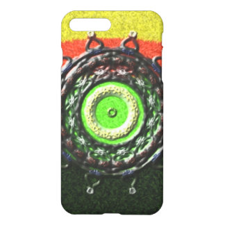Abstract pattern with circle shapes iPhone 7 plus case