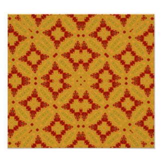 Abstract Pattern yellow and red Photo