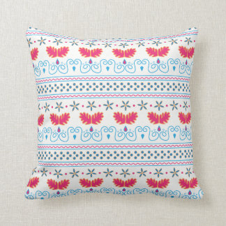 Abstract patterned pillow