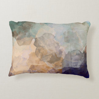 Abstract patterned pillow. decorative pillow