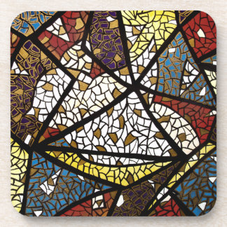 Abstract Peace Dove Coaster