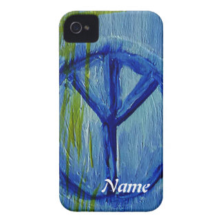 Abstract Peace sign iPhone 4 Cover
