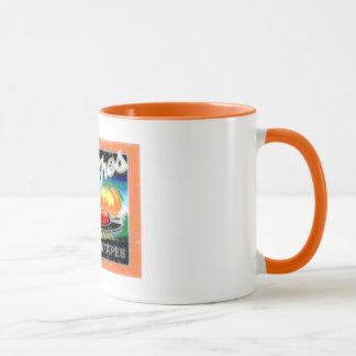 Abstract Peaches Mug