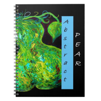 Abstract Pear Notebooks