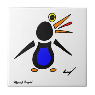 Abstract Penguin Tile