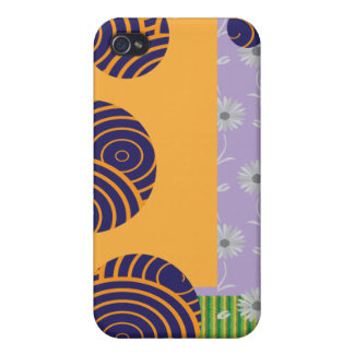 Abstract pern covers for iPhone 4