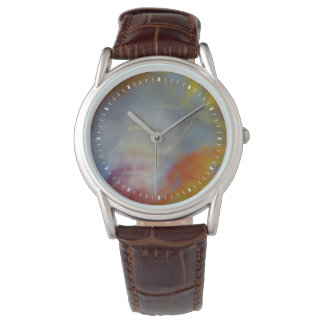 Abstract Petrified Wood close-up Watches