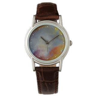 Abstract Petrified Wood close-up Wrist Watch