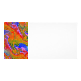 Abstract Photo Card