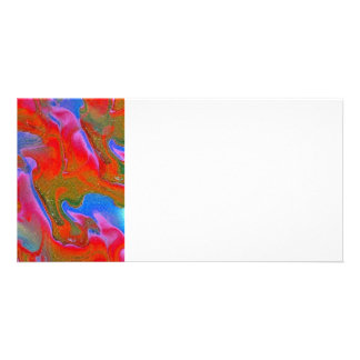 abstract photo greeting card