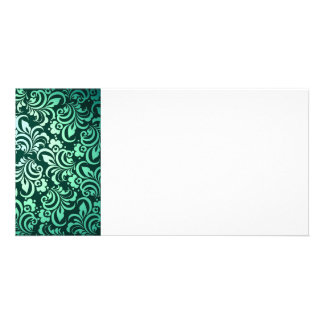 Abstract Photo Card Template