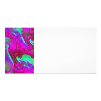 abstract picture card