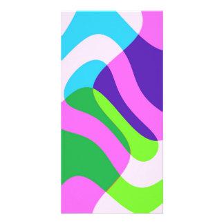 abstract photo card