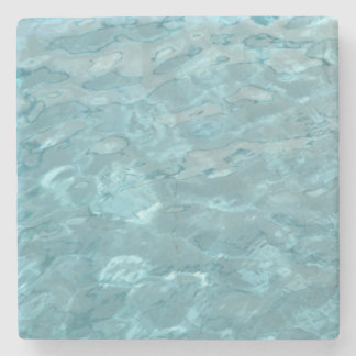 Abstract Photography Aqua Swimming Pool Water Stone Beverage Coaster