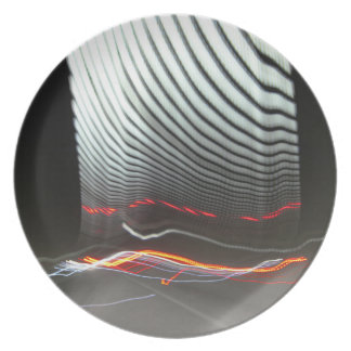 Abstract Photography Lights tunnel Dinner Plates