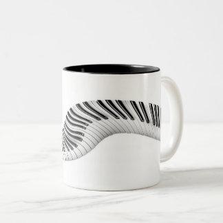 Abstract Piano Keys Mug