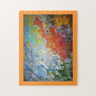 Abstract Picture Frame Jigsaw Puzzle
