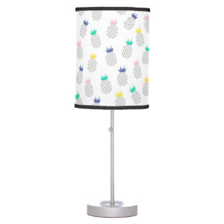 Abstract Pineapples Table Lamp