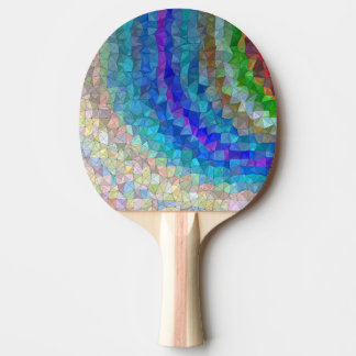abstract ping pong paddle