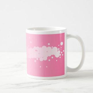 Abstract Pink Background Coffee Mug