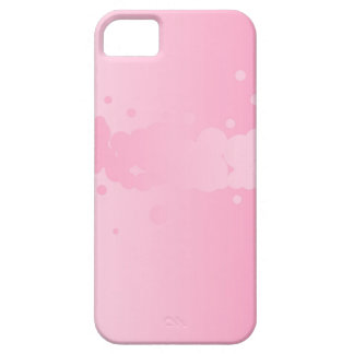 Abstract Pink Background iPhone 5 Cases