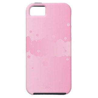 Abstract Pink Background iPhone 5 Cover