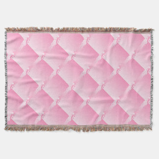 Abstract Pink Background Throw