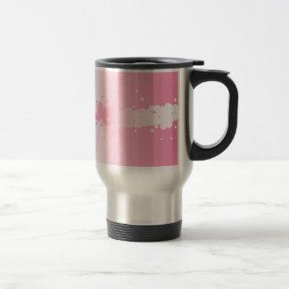 Abstract Pink Background Travel Mug