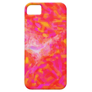 Abstract Pink Nebulla with Galactic Cosmic Cloud 3 Case For The iPhone 5