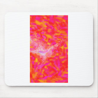 Abstract Pink Nebulla with Galactic Cosmic Cloud 3 Mouse Pad