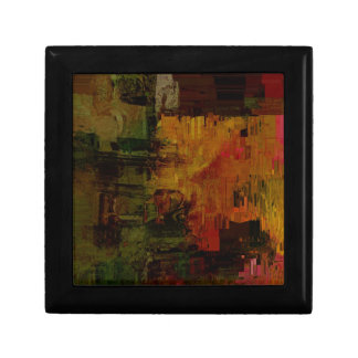 Abstract Pixelated Keepsake Boxes