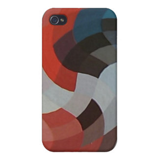 Abstract Pixels iPhone 4 Case