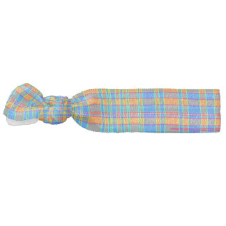 Abstract Plaid Pattern Background Hair Ties