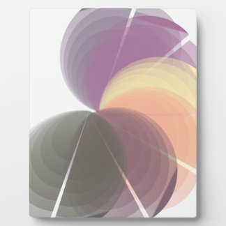 abstract plaque
