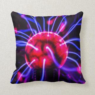 Abstract Plasma Ball Globe Macro Pillow